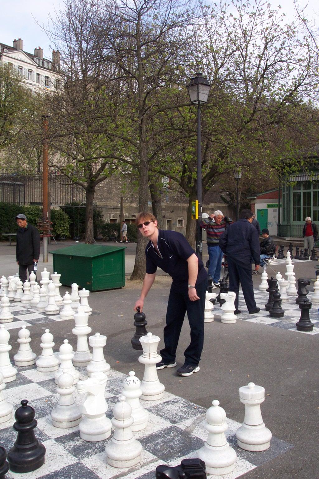 Parc des Bastions, 2003