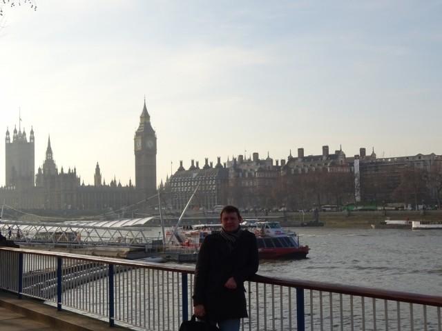 Январь в Лондоне