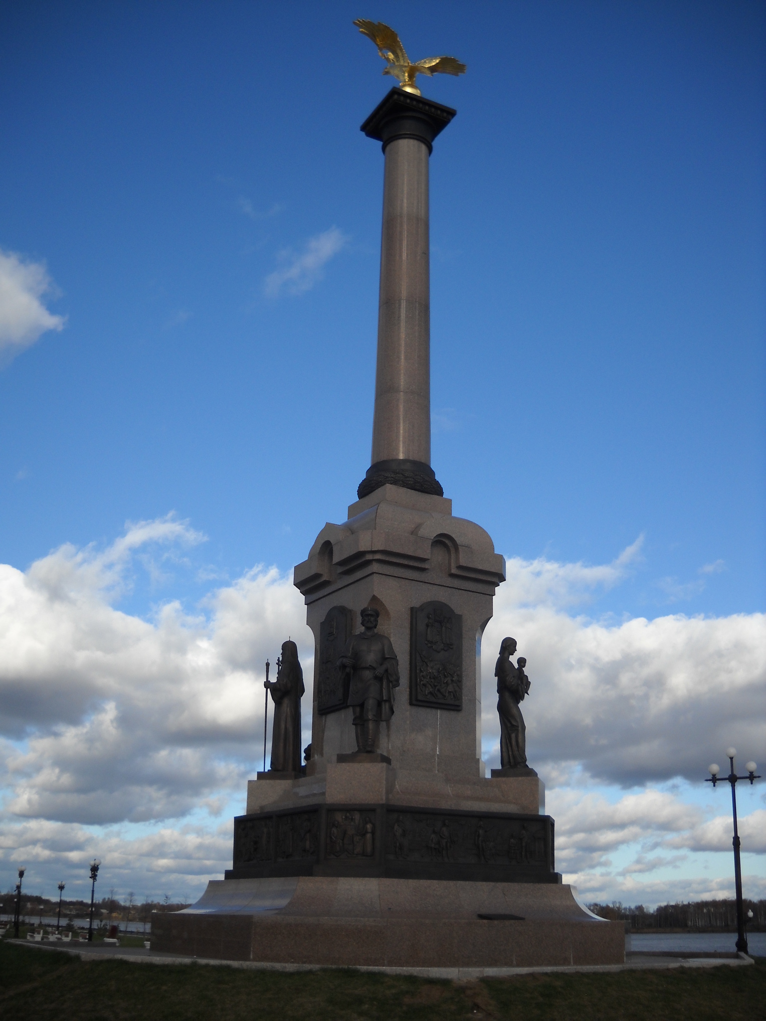Памятник тысячелетию Ярославля