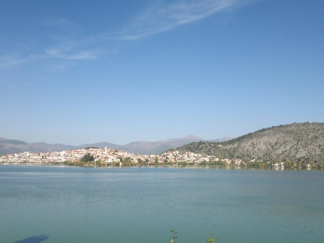 Кастория с озера Орестиада