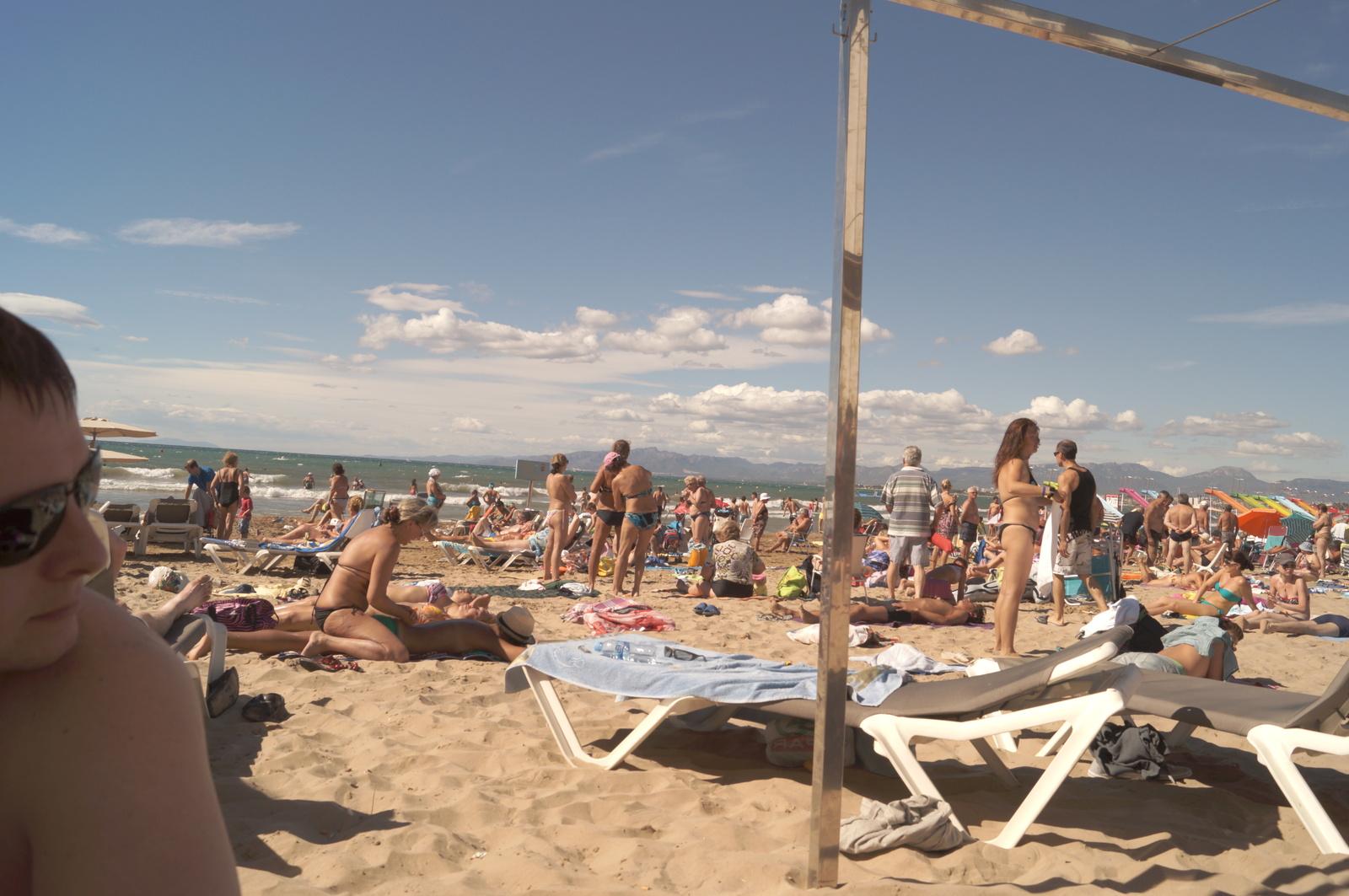 Пляж в Салоу