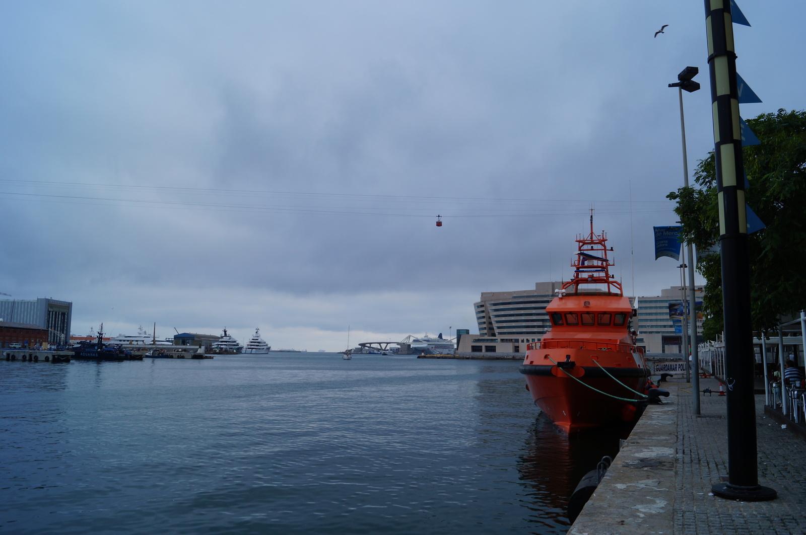 Порт в Барселоне