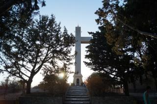 Крест на горе Филеримос