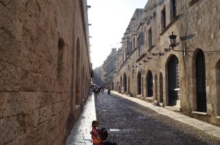 В крепости Родоса