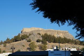 Крепость в Линдосе