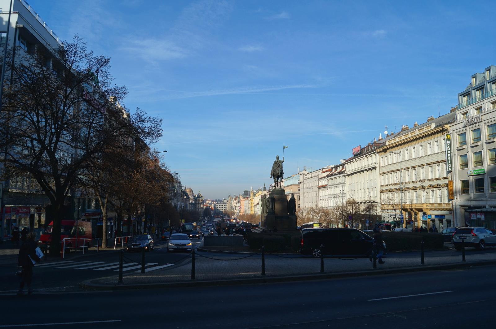 Вацлавская площадь