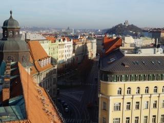 Прага сверху