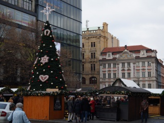 Ярмарка на Вацлавской площади