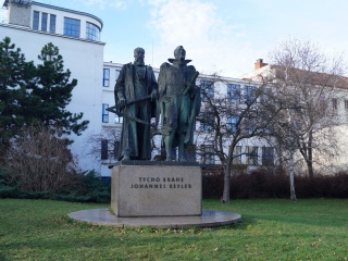 Тихо Браге и Иоганн Кеплер