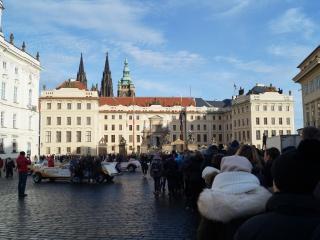 Очередь в Пражский Град