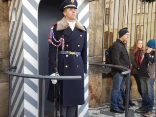 Гвардеец у Пражского Града