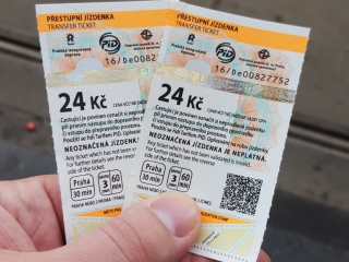 Пражские билетики