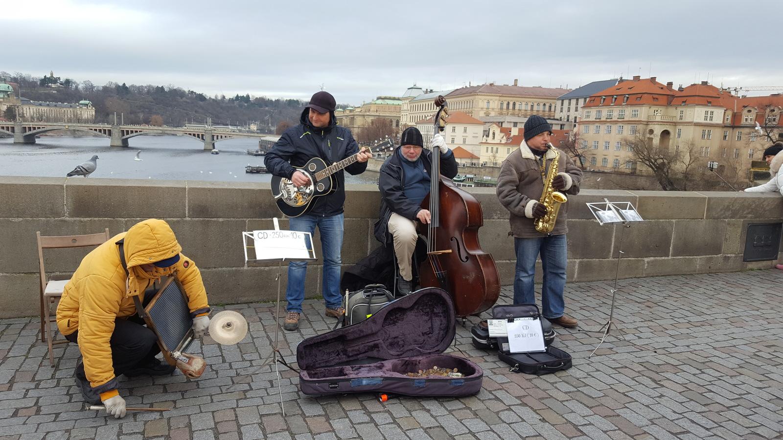 Музыканты на мосту