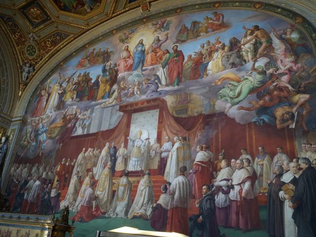 В музеях Ватикана