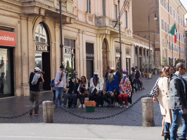 В центре Рима