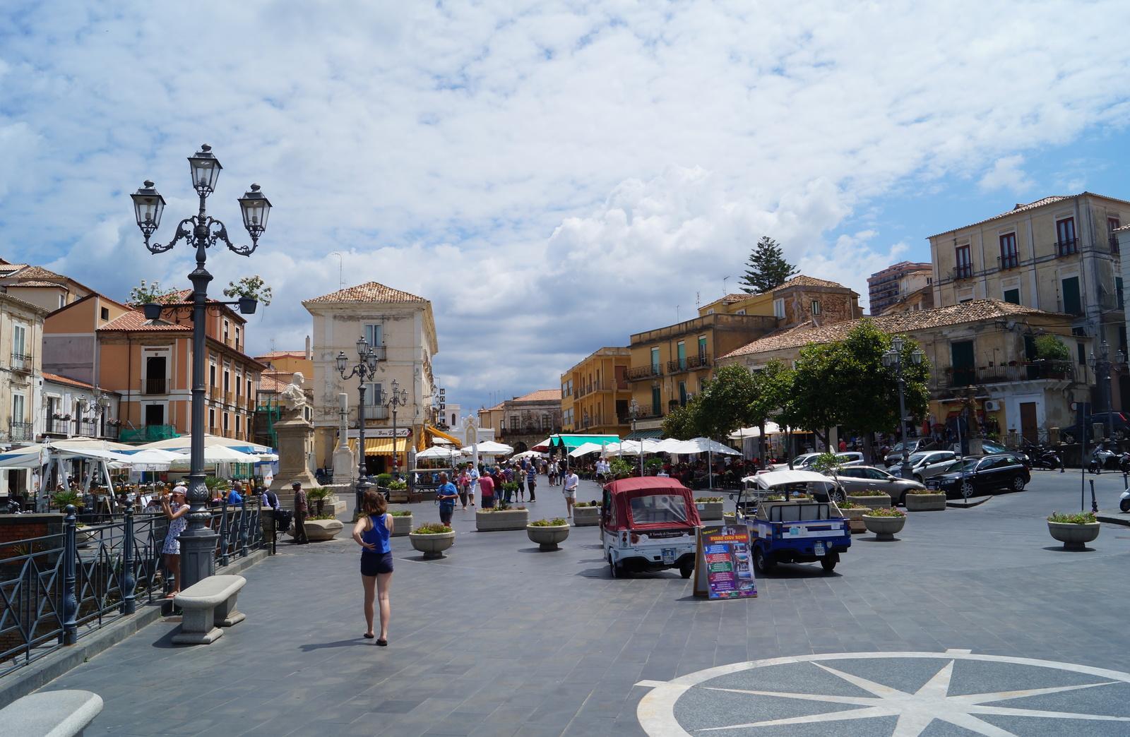 Площадь в Пиццо